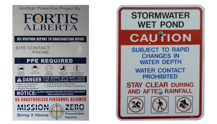 Schultz Signs - Architectural & Safety Signs
